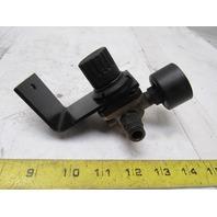 Camozzi M004-RS17 Pneumatic Air Regulator In: Max 16 Bar, Out: 0.5-10 Bar