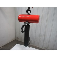 CM Lodestar Model R 2 Ton 1Hp Electric Chain Hoist 460V 3Ph 16' Lift 8FPM