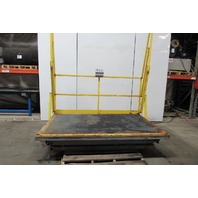 "American Lifts T1-60-040 2000LB Cap Scissor Dock Lift 96x60"" Top 24"" Side Slide"