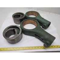 Eccentric Ram Rod End W/Cam Bearings Brake Press Lot Of 2 Sets See Info