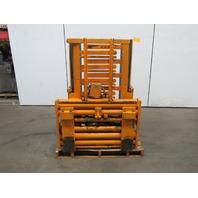 Crate Box Carton Clamp Fork Lift Truck Attachment