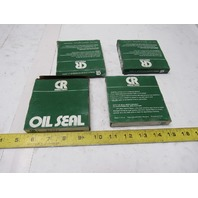 "CR Seals 32302 3-1/4"" x 3-3/4""OD Oil Seal Lot Of 4"