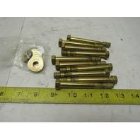 "Supertanium Alloy 3/8"" x 3"" Concrete Wedge Anchor Bolts Lot Of 10"