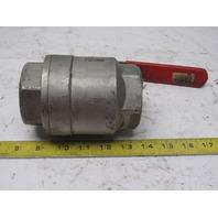 """MAS G2 2"""" NPT Full Flow Stainless Steel Brass Ball Valve 1500WOG CF8M"""