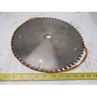 "14"" 60T Carbide Tipped 1"" Arbor Circular Saw Blade"