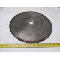 "18"" 300T Circular Cross Cut Saw Blade 1"" Arbor"