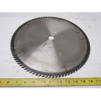 "14"" 100T 1"" Arbor Carbide Tipped Circular Saw Blade Sharp"
