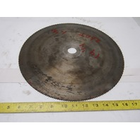 "15"" 260T 1-1/4"" Arbor Wood Cut Circular Saw Blade"