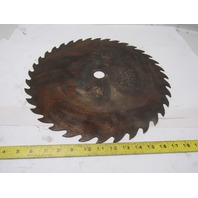 "16"" 36T 1-1/4"" Arbor Wood Cutting Circular Saw Blade"