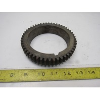 "50T 3-7/8"" Bore 5/16"" Pitch External Tooth Spline Ring Gear"