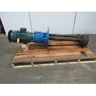Aurora Pump 86-6705 Size 2.5/3X9 Centrifugal Pump 200GPM 60' Head 7.5Hp 460V 3PH