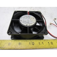 "Papst Multifan 3314 24VDC 3-1/2"" x 3-1/2"" Panel Mount Cooling Fan"