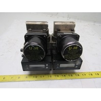 Universal Flow Monitor MSM-NSF5GPM-B-32V1.0-GTLI 5 GPM Flow Meter Double Bank