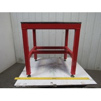 "H.D. 3/4"" Thick Top Steel Machine Base Welding Table Work Bench 32"" x 28"""