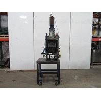 "Hydraulic Guided C Frame Press W/Controls 8"" Stroke 6"" Throat 12"" Opening"