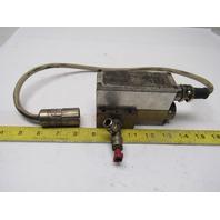 """Lanny G-1/4"""" Regulating Valve From a Trumpf 3030 Laser"""