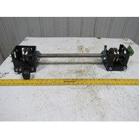 """Dematic K041550AFB 23"""" Width Left Hand Jackshaft Conveyor Assembly"""