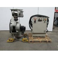 YASKAWA MOTOMAN UP130/XRC Robot W/Type ERC-UP130-BB10 Controller & Cables