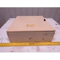 "Hoffman Concept C-SD20206 20x20x6"" Hinged Door Electrical Enclosure Cabinet"