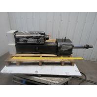 Exar Roller Screw Linear Actuator Rod Lock W/Indramat Servo