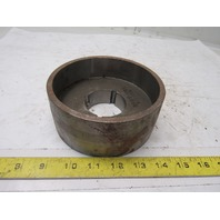"""Micro MFG 5.66"""" x 2-3/8"""" Wide Crowned Face Drive Pulley 1610 Bushing Bore"""