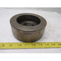"""5.96"""" x 2-3/8"""" Wide Crowned Face Drive Pulley 1610 Bushing Bore"""