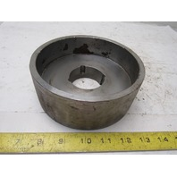 """6.32"""" x 2-3/8"""" Wide Crowned Face Drive Pulley 1610 Bushing Bore"""
