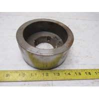 """Micro MFG 5.06"""" x 2-3/8"""" Wide Crowned Face Drive Pulley 1610 Bushing Bore"""