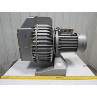 "Rietschle SKP 49042-04 Regenerative Vacuum Blower Motor 480V 2Ph 22A 4"" NPT"