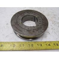 "Dodge 1A4.2B4.5 5"" OD Single Groove V Belt Pulley 1610 Bushing"