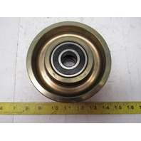 """5-1/2"""" OD x 2-1/4"""" Crowned Face End Roller 25mm Bore"""