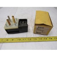 Hubbell 9309 2 Pole 3 Wire 30A 125V 10/3 Straight Blade Angle Plug