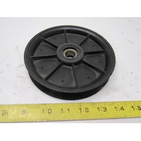 """Fenner Drives 04869-23734 5-7/8"""" Round Poly Belt Nylon Tensioner Pulley 5/8""""Bore"""