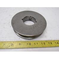 "Dodge 1A4.8B5.2-1610 118199 Bushing Bore V-Belt Pulley A, B 1 Groove 5.55"" OD"