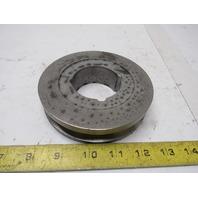 "Dodge 1A4.4B4.8-1610 118197 Bushing Bore V-Belt Pulley A Size 5.15"" OD 1 Groove"