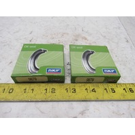 SKF 9878 Nitrile Oil Seal CRWA1  1.0000 in Shaft, 1.4990 OD Lot Of 2