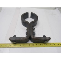 "4"" OD Pump Pipe Stand Off Support Bracket Clamp"