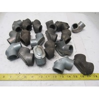 """1"""" Rigid Gasketed Pulling Female 90° Elbow Mixed Lot of 18"""