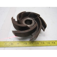 "Gusher  Pumps 6"" Impeller From PCL2X3-6SFH-CC-A Centrifugal Pump 1-1/4"" Bore"