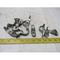 """1"""" Rigid Conduit Clamp One-Hole Pipe Strap Malleable Iron Lot of 12"""