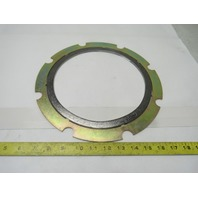 "Garlock Edge Yellow 8"" Flange Carbon Spiral Gasket 150 PSI # 300 Outer Ring"
