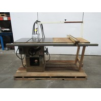 """Powermatic Model 66 5HP 10"""" Table Saw Fence & Table Extension 230/460V 3 Ph"""