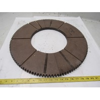 """20"""" External Tooth120T 10"""" ID 57/64"""" Thick Clutch Drive Wear Plate Lot/2"""