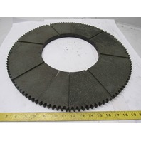 """NF407 20"""" External Tooth 120T 10"""" ID 7/8"""" Thick Clutch Drive Wear Plate Lot/2"""