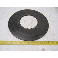 """13"""" OD 5-3/4"""" ID Internal Tooth 48T 0.306"""" Thick Clutch Friction Wear Plate"""