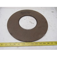 """HF-35 13"""" OD 5-3/4"""" ID Internal Tooth 48T 0.314"""" Thick Clutch Friction Disc"""