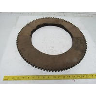 """2497-X 19-7/16"""" OD 12"""" ID External Tooth 96T .875"""" Thick Clutch Friction Disc"""