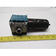 "Rexroth Mecman 5351220810 FIL C15i Pneumatic Air Filter 12 Bar max. 3/8"" NPT"