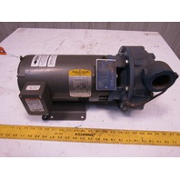 Scot 3081K416 5Hp 2x1.5 End Suction Centrifugal Pump 3PH 230/460V 3450 RPM