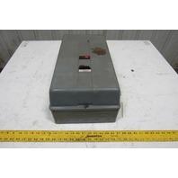 Square D 8536SEG1 Motor Starter 480V Coil NEMA Size 3 W/Enclosure Type 1
